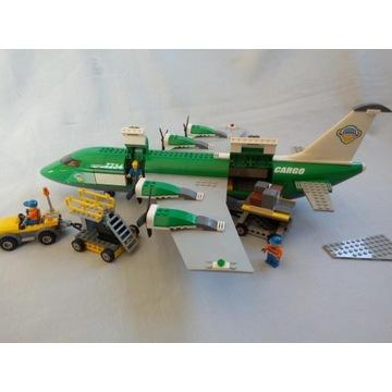 LEGO Samolot Transportowy Cargo Plane City 7734
