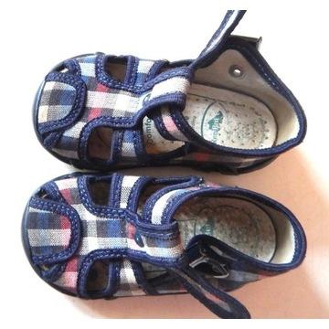 Buty domowe, sandałki r. 20  wkł. 11,5 Ren But