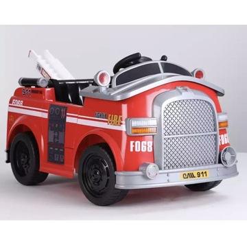 Autko dzieci akumulator straż pożarna GWIAZDKA HIT