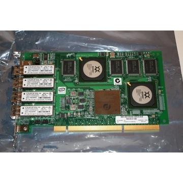 Używany FC Qlogic QLA2344  PCI-X, 4x2Gb fibre