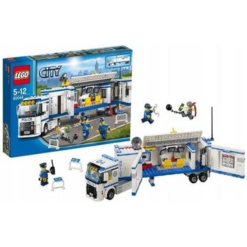 LEGOCity Mobilna jednostka policji 60044  JAK NOWE