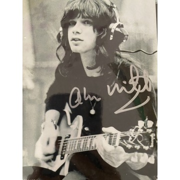 Oryginalny autograf ś.p. Alan Merrill (Arrows)
