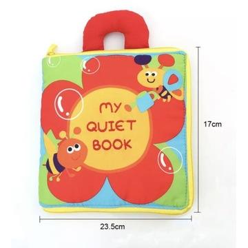 Książeczka sensoryczna, zabawka dla dziecka