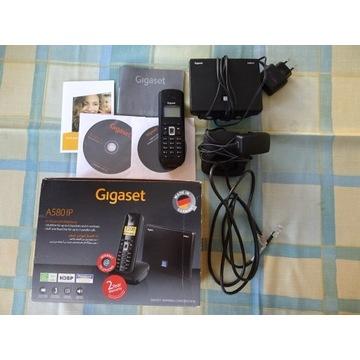 Telefon bezprzewodowy Gigaset A580IP.