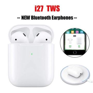 Słuchawki bezprzewodowe i27TWS BT5.0 iOS Android