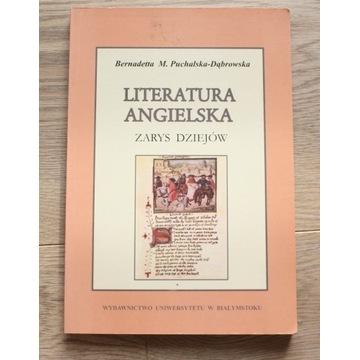LITERATURA ANGIELSKA  zarys dziejów B.PUCHALSKA