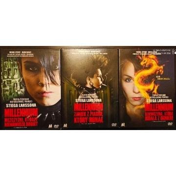 MILLENNIUM  -   Zestaw  3  x  DVD