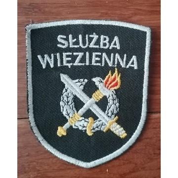 Naszywka /herb/logo/tarcza - służba więzienna