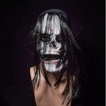 Silikonowa straszna Maska na Hallowen horror