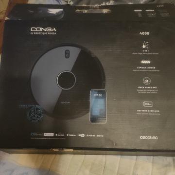Robot Sprzatajacy CECOTEC CONGA 4090 Z MOPEM wifi