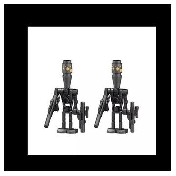 Dwa droidy ze świata Lego star wars