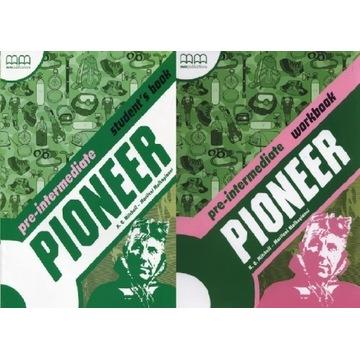 Podręcznik + ćwiczeń Pioneer Pre-Intermediate.  A2