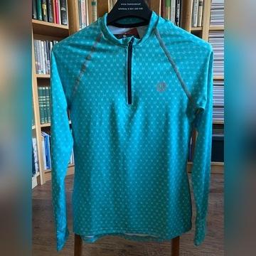 Bluza treningowa ZIP Galaxy Turquoise XS