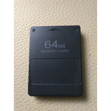 Karta Pamięci Ps2 64MB + FreeMcBoot + 200 RomówNES