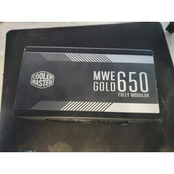 Zasilacz komputerowy COOLER MASTER MWE GOLD 650