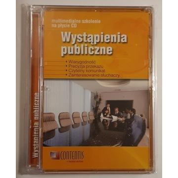 Wystąpienia publiczne Multimedialne szkolenie CD