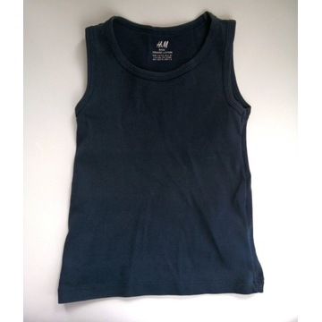Koszulka bez rękawów H&M 110/116 6 lat