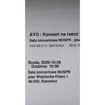 Bilety na koncert AYO