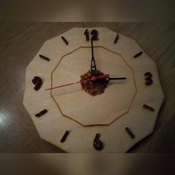 Zegar z bursztynem