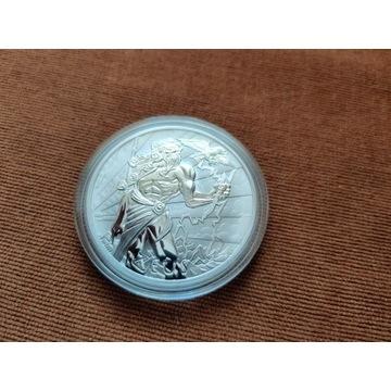 Moneta Srebrna Zeus Tuvalu 2020