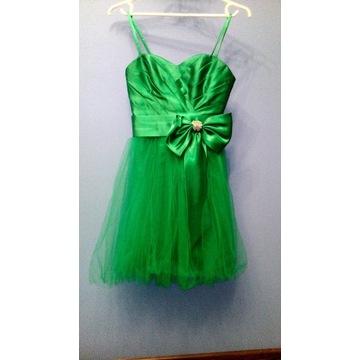 sukienka  krótka na wesle rozmiar 36