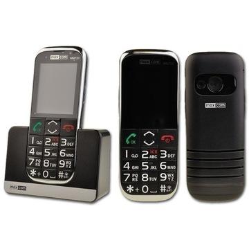 MAXCOM MM720 telefon stacjonarny GSM na kartę SIM.