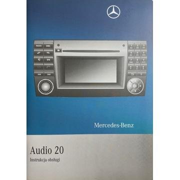 Instrukcja obsługi Mercedes-Benz Audio 20