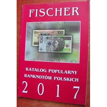 Katalog Banknotów Polskich - Fischer - 2017