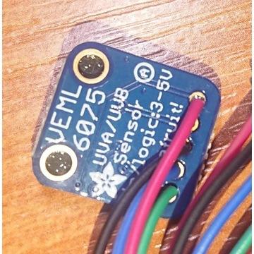 Czujnik światła UV VEML6075 I2C