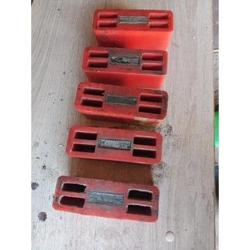 Przekładki magnetyczne do traka 5 sztuk 40zl.