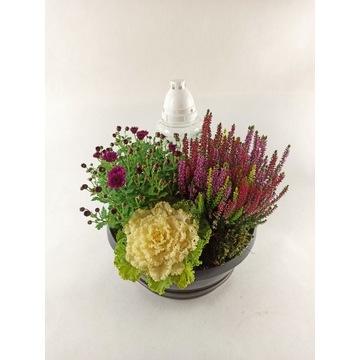 Stroik święta,dekoracja żywe kwiaty