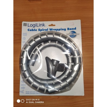 Spirala do kabli Logilink 1500x28mm