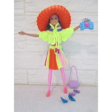 Ubranie dla lalki Barbie*Zestaw*Akcesoria*