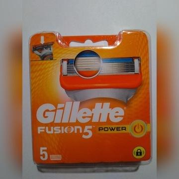 GILLETTE FUSION 5 po 5szt. Niemcy