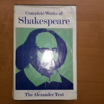 William Shakespeare Complete Works 1951r -Szekspir