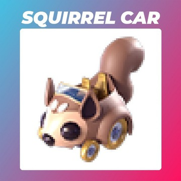 Roblox Adopt Me Squirrel Car