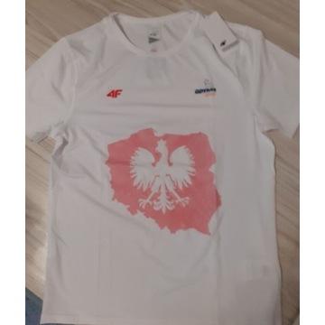 Nowa koszulka 4F. Polska. Bieganie i sport