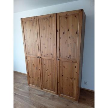 Szafa trzydrzwiowa - Ikea drewno