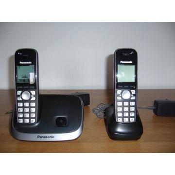 TELEFON PANASONIC KX-TG6511PD - 2 SŁUCHAWKI