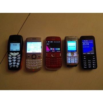 5 sprawnych telefonów