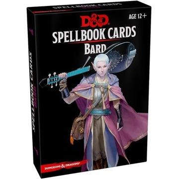 D&D Spellbook Cards Bard DnD