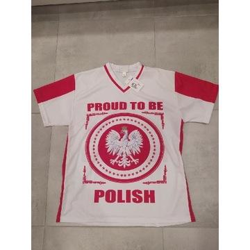 Koszulka POLSKA patriotyczna Zulla rozm. M
