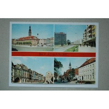 Bolesławiec .Ratusz , auta 1974