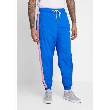 Nike dresowe spodnie męskie szelesty dresy Wixapol