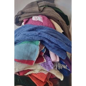Fragmenty swetrów do sprucia 5kg okazja.