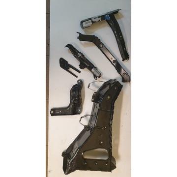 wsporniki-łączniki chłodnicy  Infiniti QX60