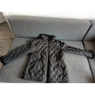 damska kurtka pikowana na zamek weatherproof