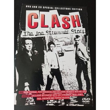 THE CLASH the Joe Strummer Story DVD+CD