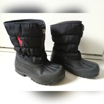 Buty polo ralph Lauren śniegowce