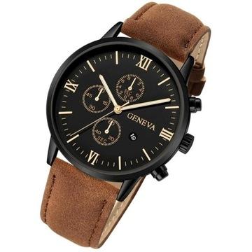 Efektowny zegarek męski LICYTACJA
